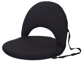 Marco Portable Backrest Chair - Black