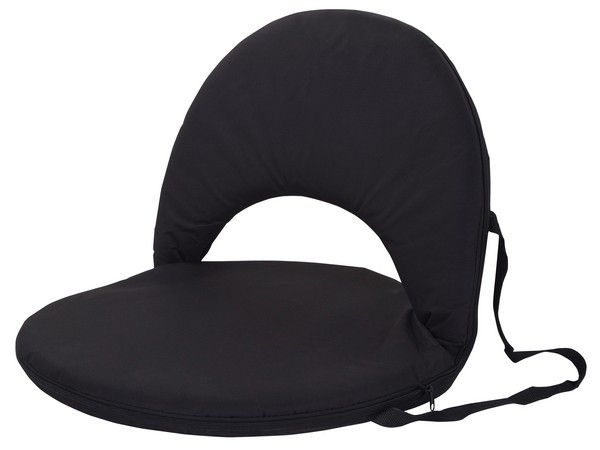 Marco Portable Backrest Chair   Black. Loading Zoom