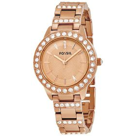 Fossil Women's ES3020 Jesse Rose Gold-Tone Stainless Steel Watch with Link Bracelet (Parallel Import)