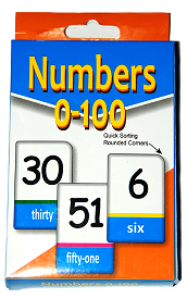 Bargains For All - Flash Cards - Numbers 0-100
