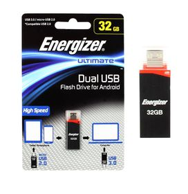 Energizer 32GB Dual USB Flash Drive/OTG