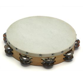 Large Tambourine with Head