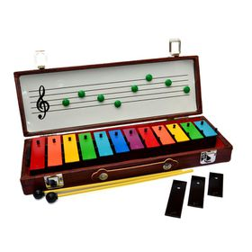 12 note Chroma-Note glockenspiel with magnetic case
