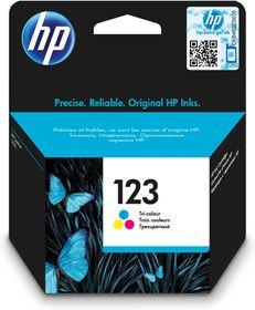 HP 123 Tri-Colour Ink Cartridge