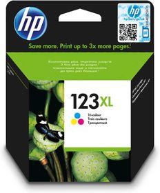 HP 123XL High Yield Tri-Colour Ink Cartridge