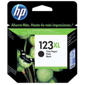 HP 123XL Black Ink Cartridge - 480 Pages