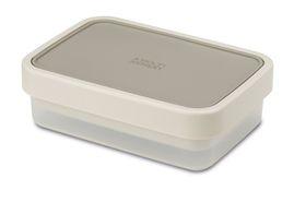 Joseph Joseph - Go-Eat Compact 2-In-1 Lunch Box - Grey