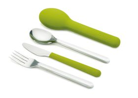 Joseph Joseph - Go-Eat Compact Stainless Steel Cutlery Set - Green