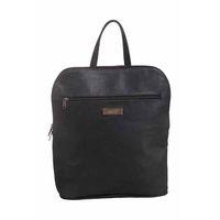 Mally Helene Leather Backpack - Black