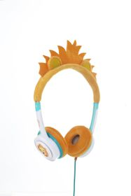 ZAGG Little Rockerz Costume Headphones - Orange Lion