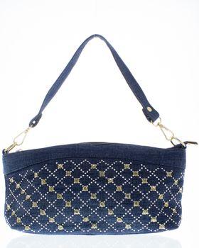 Ladies Denim Diamante Bag