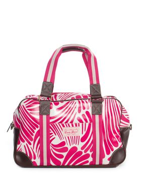 Candy Flowers Christie Bag - Pink & White