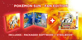 Pokemon Sun and Steelbook - Limited Edition (3DS)