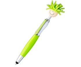 Holbay Pens Moptopper 3-in-1 Stylus Pen - Lime Green Barrel