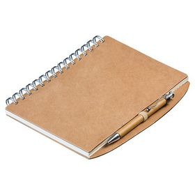 Holbay Pens Squiggle Eco A5 Spiral Notebook & Pen