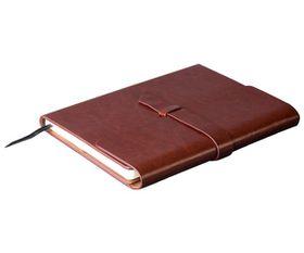 Holbay Pens Peninsula Maxi Notebook - Brown