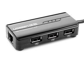 UGREEN USB Type C To Ethernet+3 USB Port