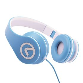 Amplify Headphones Low Ryders With Mic - Blue/White