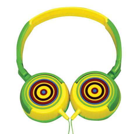 fe41e5f940a28 Amplify Kiddies Rainbow Tunez Foldable Headphones