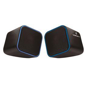 Volkano Diamond Series USB Speaker - Blue