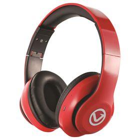 Volkano Impulse Series Bluetooth Headphones - Red