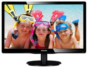 "Philips 200V4LSB 19.5"" Wide LED Monitor"