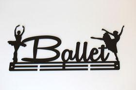 TrendyShop Ballet Medal Hanger - Black
