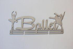 TrendyShop Ballet Medal Hanger - Stainless Steel