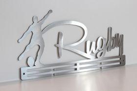 TrendyShop Rugby Medal Hanger - Stainless Steel