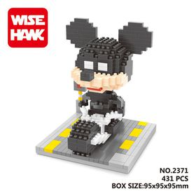 Wisehawk Mickey Mouse Batman Mini Blocks - 431 Piece