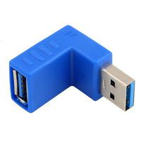 Raz Tech 90-Degree Bended USB 3.0 Adapter Converter