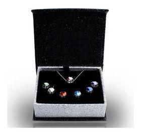 Destiny 7 Pendant Set with Swarovski Crystals