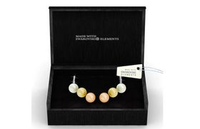 Destiny Sophie Pearl Earrings Set with Swarovski Crystals