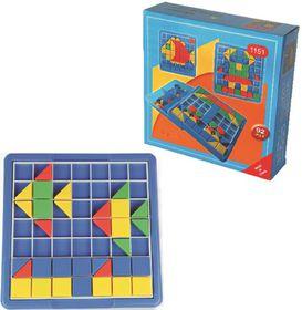 Greenbean Mosaic Jumbo Grid Board 92 Pieces Set