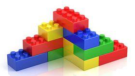 Greenbean Building Blocks Small 99 Pieces Jar