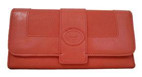 Fino Pu Leather Purse - Peach (64-765)