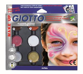 Giotto Make Up Creamy Make Up Glamour Colours Tablets Set
