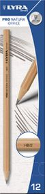 Lyra Pro Natura Office HB Graphite Pencils - Box of 12