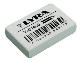 Lyra India Rubber Eraser White