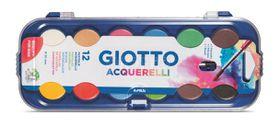 Giotto  Acquarell Watercolours - 12 Pats
