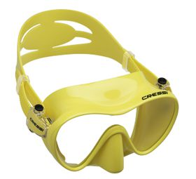 Cressi F1 Yellow Diving Mask