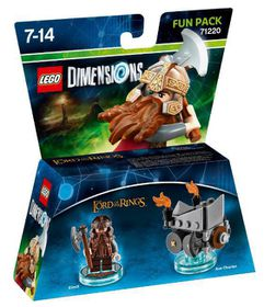 LEGO Dimensions 1: Fun: Lord Of The Rings - Gimli