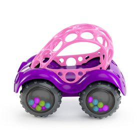 Oball - Pink Rattle and Roll Buggy