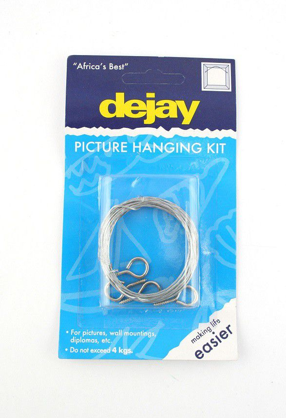 Waldo Dejay Picture Hanging Kit / Picture Wire - Steel (#a35) | Buy ...