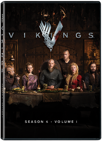 Vikings Season 4  Vol. 1  (DVD)