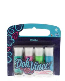Play Doh Doh Vinci Deco Pop 4 Pack Refill - Lime, Pink, Blue and Green