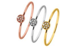The Gem Seller - Stacking Rings Made with  Swarovski Elements- size 6