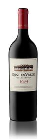 Rust En Vrede - 1694 Classification - 6 x 750ml