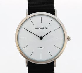 Way North Watches:  Chrome - Black