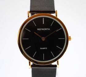 Way North: Black Mesh Watch